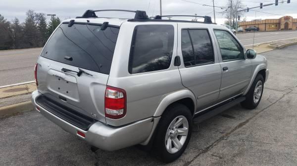2002 Nissan Pathfinder 3.5 Automatic For Sale St. Louis ...