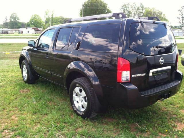 2005 Nissan Pathfinder Automatic For Sale Muscle Shoals ...